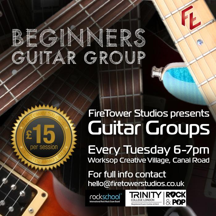 Beginner Guitar Lessons Retford and Worksop