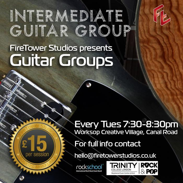 Intermediate Guitar Group Retford and Worksop
