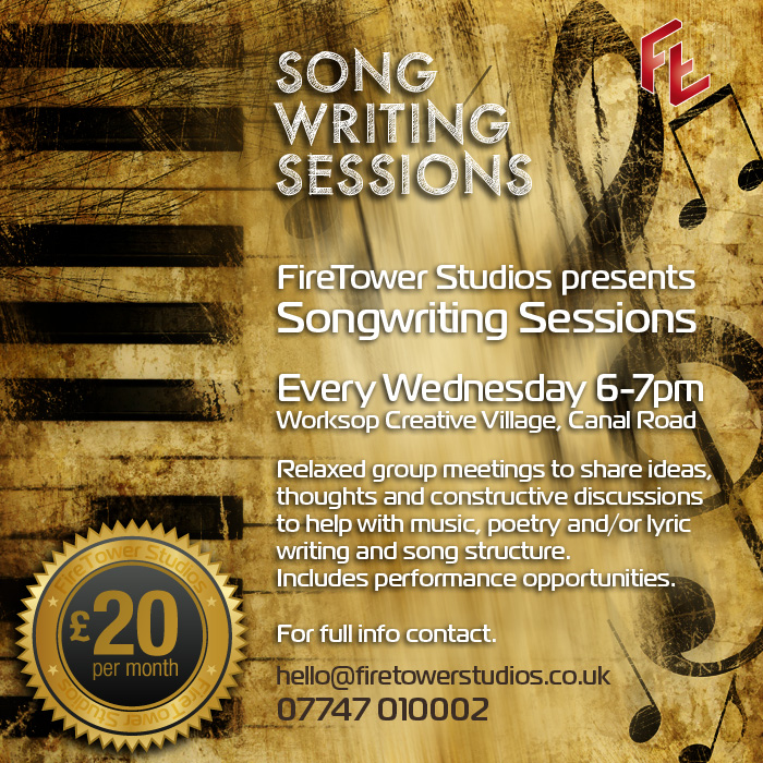 Songwriting Sessions Retford and Worksop